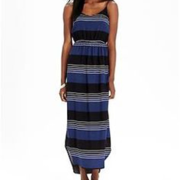 Old Navy Striped Maxi Dress